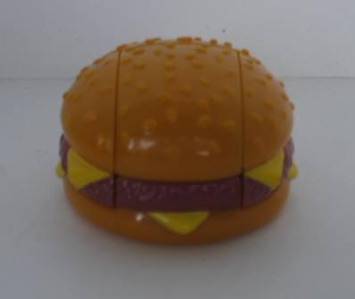 1987 McDonalds - Quarter Pounder - Transformer Changeables